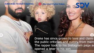 Singer Drake pens an emotional message to his son