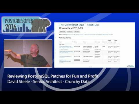 Reviewing PostgreSQL Patches for Fun and Profi