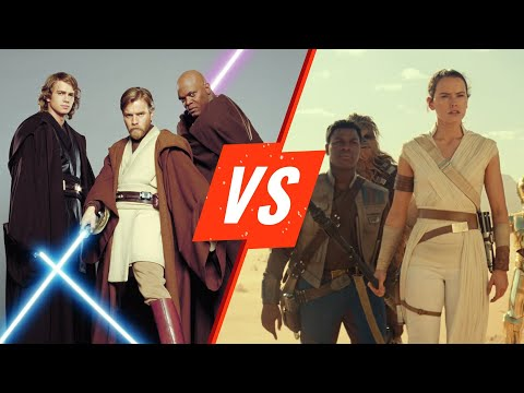 Star Wars Prequels Vs Sequels Rotten Tomatoes Youtube