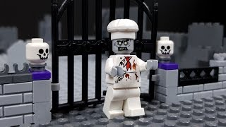 Lego Halloween Zombie Haunted House