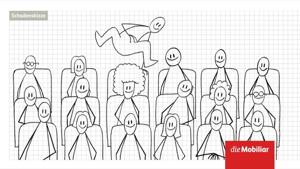 Animierte Schadenskizze Der Mobiliar Kino Youtube