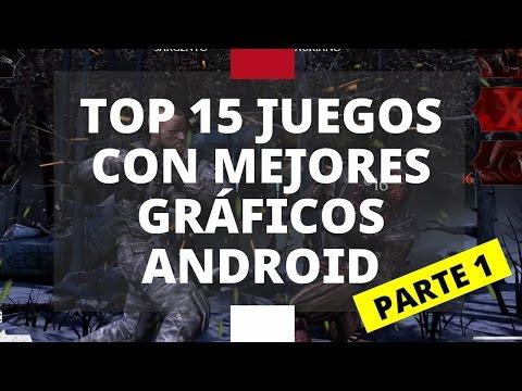 Top 15: Juegos con mejores gráficos para Android 2016 | Parte 1 HD