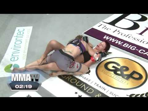 BCMMA15 Saturday 7th May 2016  Naomi Harvey Vs Wendy Mckenna  115lbs Amateur WMMA Title Bout