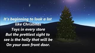 Michael Buble - It`s Beginning To Look A Lot Like Christmas (Lyrics)