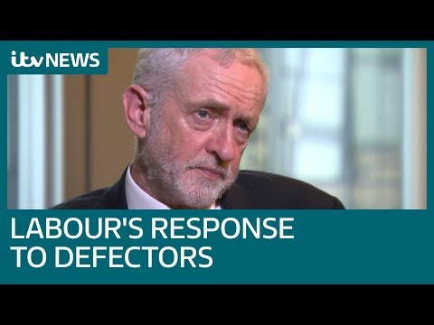 Jeremy Corbyn discusses Brexit, Labour's defectors, Derek Hatton and George Galloway| ITV News