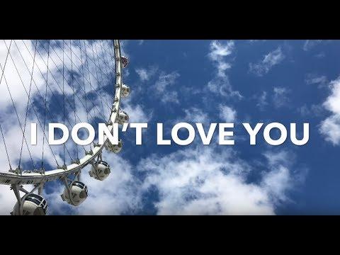 Junge Junge - I Don't Love You Lyrics