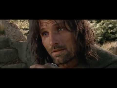 Aragorn Vs Uruk Hai