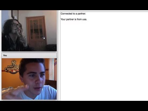 Chatroulette Experience 17 - Johnny Depp on Chatroulette