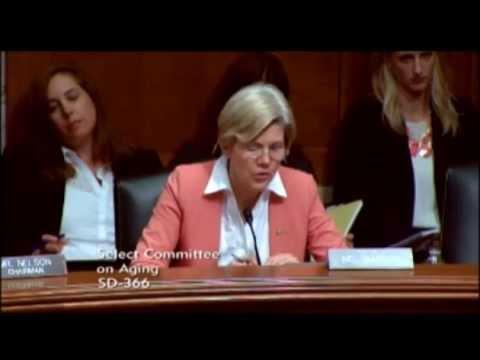 Senator Elizabeth Warren - The State Of The Medicare Drug Program - NEW