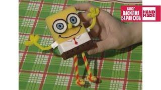 Игрушка Губка Боб / Toy funny SpongeBob / ПОДЕЛКА / DIY