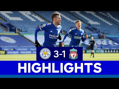 Incredible Comeback From The Foxes   Leicester City 3 Liverpool 1   2020/21