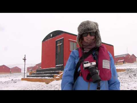 Argentina's Esperanza Base, Antarctica