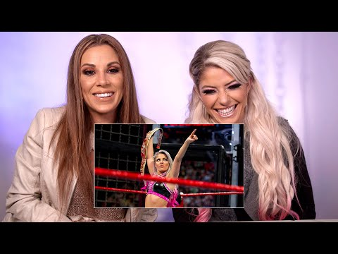 Alexa Bliss & Mickie James watch the first-ever Women's Elimination Chamber Match: WWE Playback thumbnail