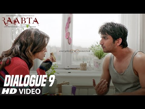 Raabta Dialogue Promo 9 :  Sushant Singh Rajput | Kriti Sanon