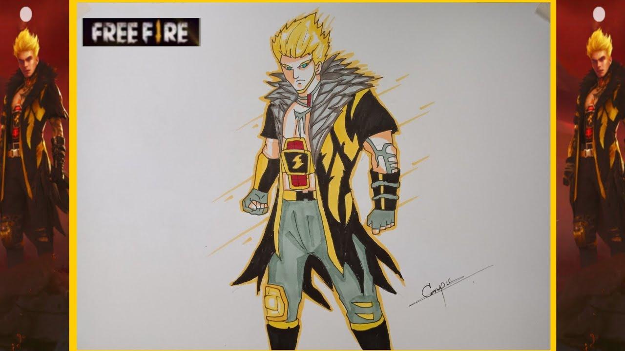 วาดรูปฟีฟาย free fire