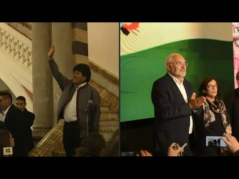 afpes: Evo Morales iría a segunda vuelta frente a Carlos Mesa en Bolivia   AFP