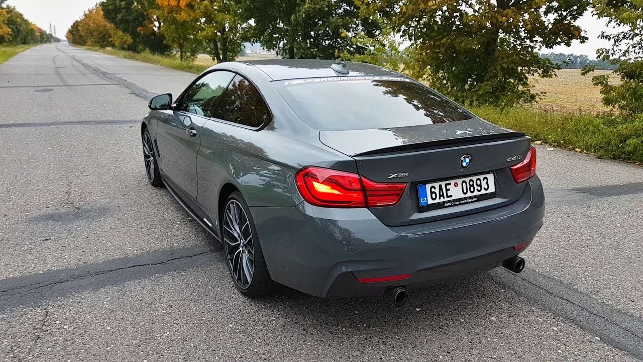 bmw 440i xdrive m performance revs driving exhaust sound youtube. Black Bedroom Furniture Sets. Home Design Ideas