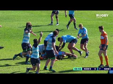 2018 Australian Schools Rugby Championship Final: NSW I vs NSW II