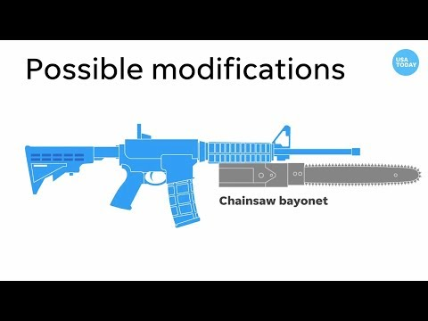 USA Today Runs Anti-Gun Video Showing Novelty Attachment, The Chainsaw Bayonet
