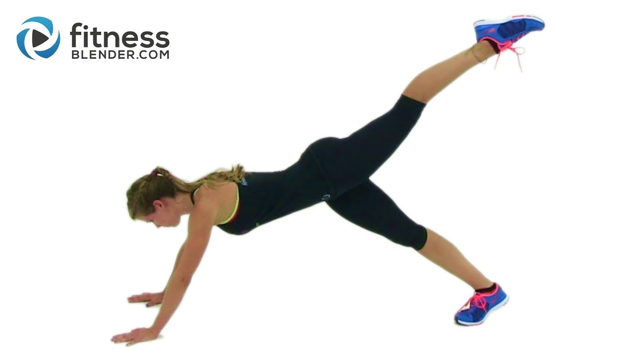 Minute at home abs hiit cardio workout for fat loss