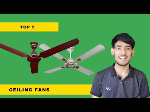 Top 5 Best ceiling fans of 2020 In India | Budget Fans Reviews &Comparison .