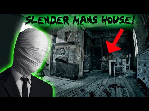 THE 3 AM  CHALLENGE IN SLENDER MANS HOUSE!