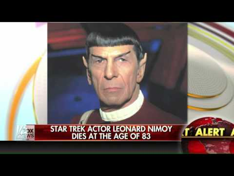 'Star Trek' star Leonard Nimoy dies at 83