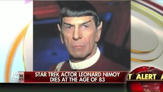 'Star Trek' star Leonard Nimoy dies at 83