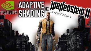 Adaptive Shading Adds Performance To Wolfenstein II