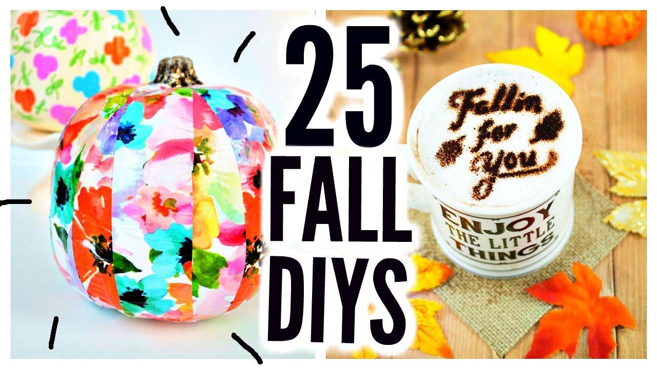 25 Diy Halloween Fall Crafts Room Decor Party Ideas Treats Decorations