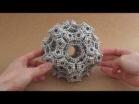 Octagon Stack Truncated Octahedron Dodecahedron (Zen Magnets)