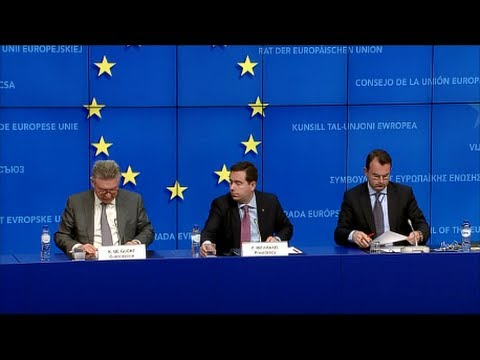 Foreign Affairs Council (Trade), Brussels 08.05.2014 - Press Conference