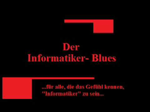Informatiker Blues