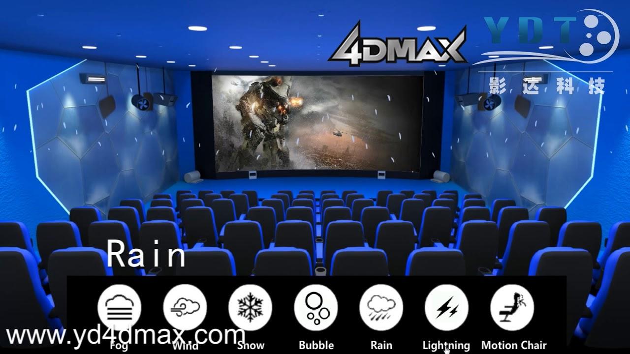 4D Max Cinema 4d, 5d cinema & theater asientos chiars para la venta