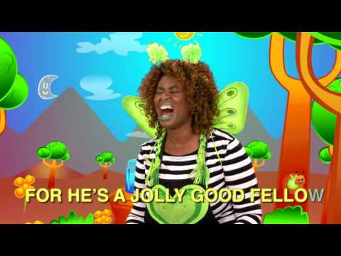 Jolly Good Fellow | Kids Songs & Videos | GloZell and the GloBugz!