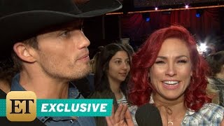 EXCLUSIVE: Bonner Bolton & Sharna Burgess Laugh Off Awkward 'DWTS' Moment: It Was a 'Total Accide…