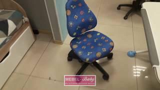 Обзор кресла Mealux Conan BB (арт.Y-317 BB) обивка синяя с жучками