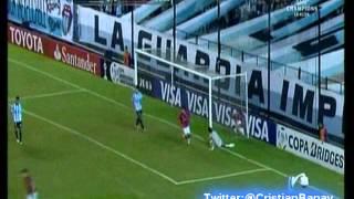 Racing 2 Wanderers 1 (Relato Bambino Pons) Copa Libertadores 2015