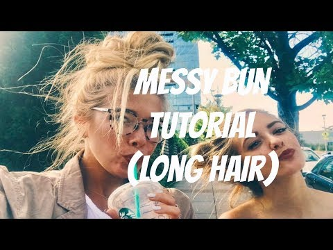 FOOL PROOF MESSY BUN for LONG HAIR
