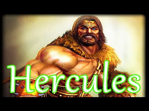 SMITE Hercules Support ~ Season 4 PTS testing ~ what can I say? I'm Hercules!