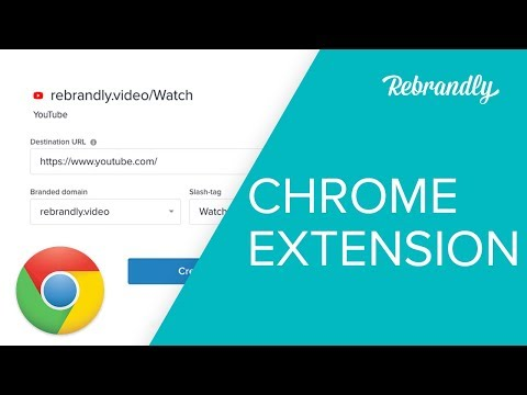 How To Shorten A URL - Rebrandly Chrome Extension