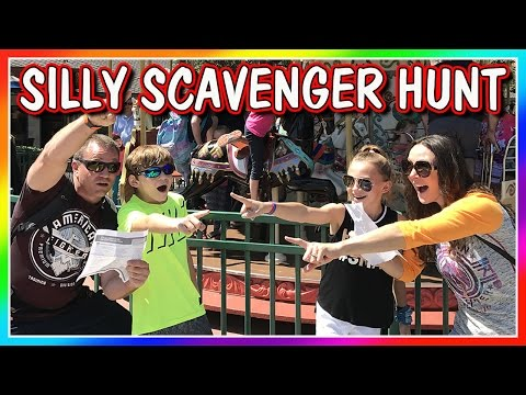 SILLY SCAVENGER HUNT AT DISNEY SPRINGS   We Are The Davises