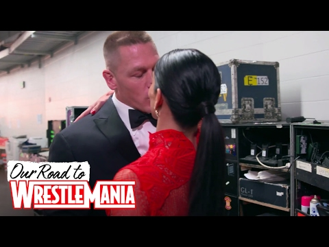 John Cena and Nikki Bella's endearing backstage moment at the WWE Hall of Fame