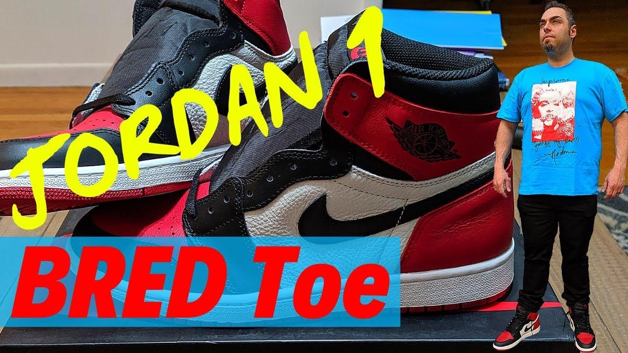 Jordan 1 Bred Toe GRAIL STOCKX UNBOXING