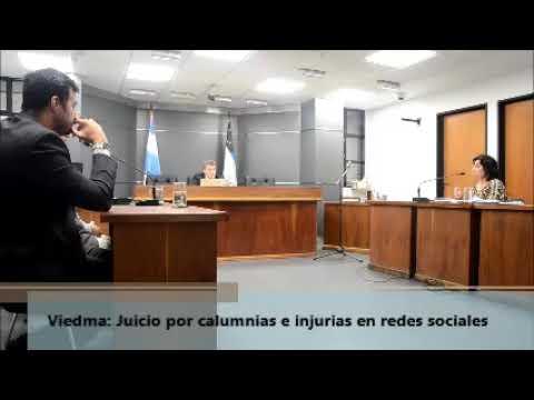 Viedma: Cuarto intermedio en juicio por calumnias e injurias en redes sociales