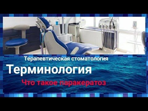 Что такое паракератоз / Терапевтическая стоматология 3 курс/ Терминология / Дантисты стоматология