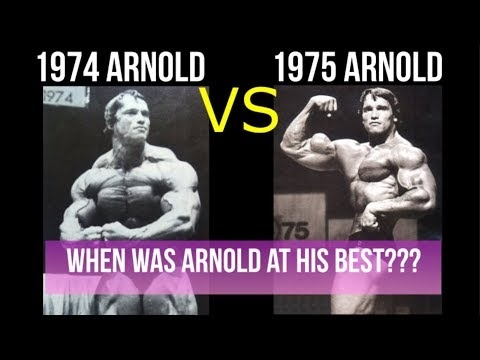 1974 Arnold vs 1975 Arnold When Was Arnold Schwarzenegger At His Best?