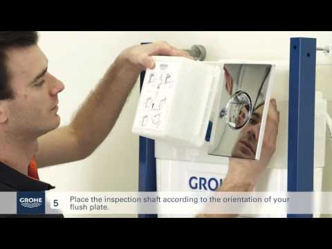 Install A GROHE Wall-hung Toilet System