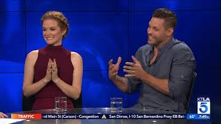 Sarah Drew & Justin Bruening on Reuniting from