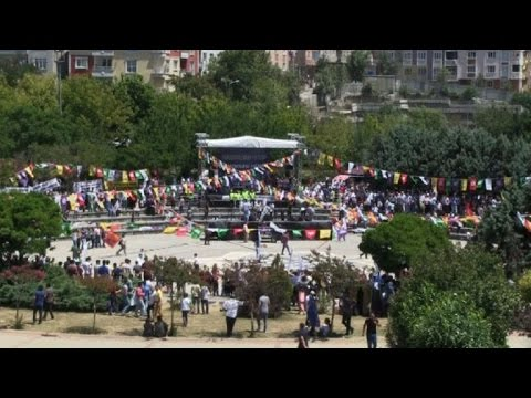 Turkey: pro-democracy protest in Istanbul